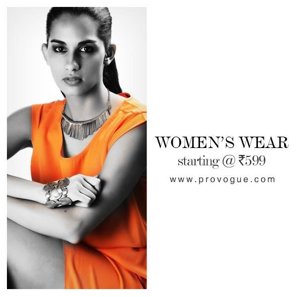Enjoy your Diwali more by shopping Smart and Stylish collection at ease from home on www.provogue.com Collection Up to 35% off! Happy Diwali