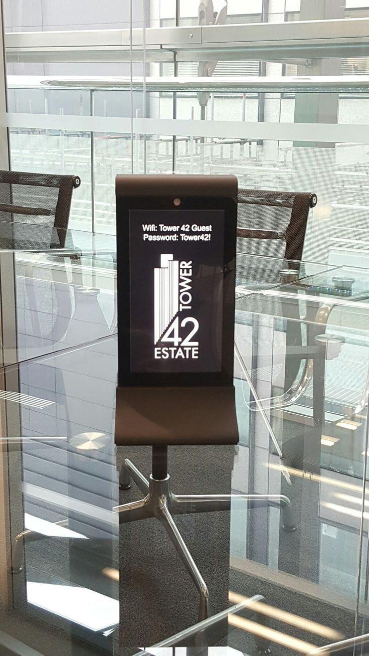 GIZGO POD in Tower 42, London AKA NATWEST Building