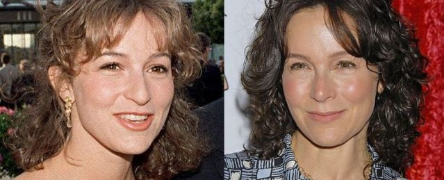 Celebrities – now and then...Jennifer Grey 1987; 2007
