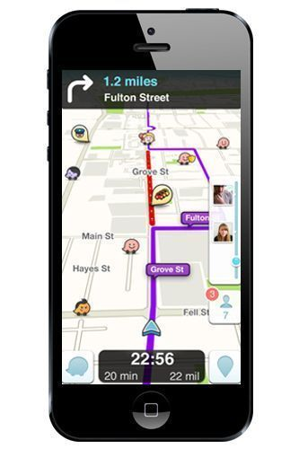 15 Road-Trip Apps That Make Travel A Breeze #refinery29  http://www.refinery29.com/travel-apps#slide-2  Waze Looking for a navigation app that offers multiple routes, real-time traffic updates, notifications about speed traps, and the ability to compare gas prices? Well, here ya go. Waze is community-based, which means it's updated by driv...