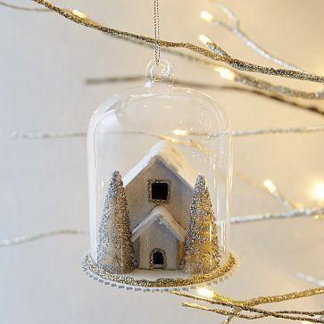 Cloche Ornament - Deco House #westelm