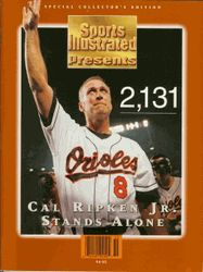 1995: Cal Ripken plays his 2131st consecutive game #orioles I remember leaving a youth group meeting in order to go home and see that game! :)