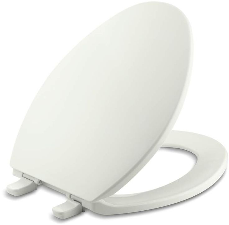 Kohler K-4774 Brevia Q2 Elongated Closed-Front Toilet Seat with Quick-Release an