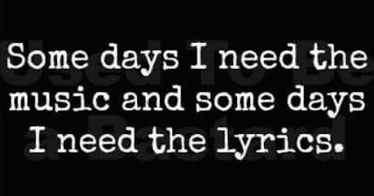 and some days I need both.