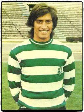 Yazalde, futebolista do Sporting Clube de Portugal entre 1971 e 1975 e da seleção da Argentina. Melhor marcador europeu de sempre em 1973-1974, com 46 golos.