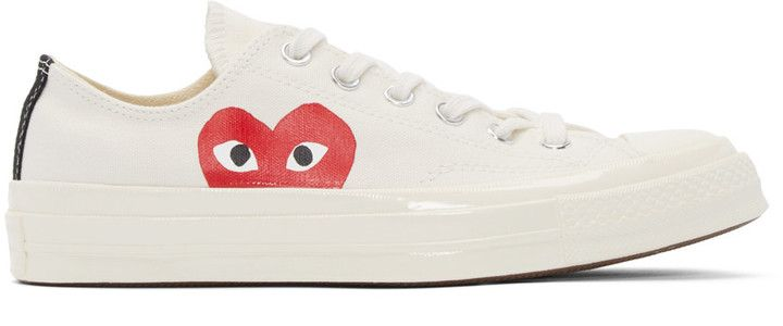 Comme des Garçons Play Off-White Converse Edition Sneakers