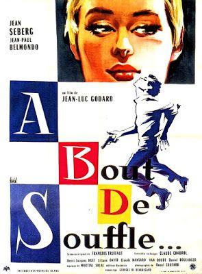 LAS PELÍCULAS QUE YO VEO: una página de cine: AL FINAL DE LA ESCAPADA (À bout de souffle, 1960), de Jean-Luc Godard: Grandes películas