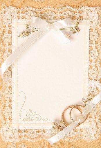 Lace edged wedding frame - background