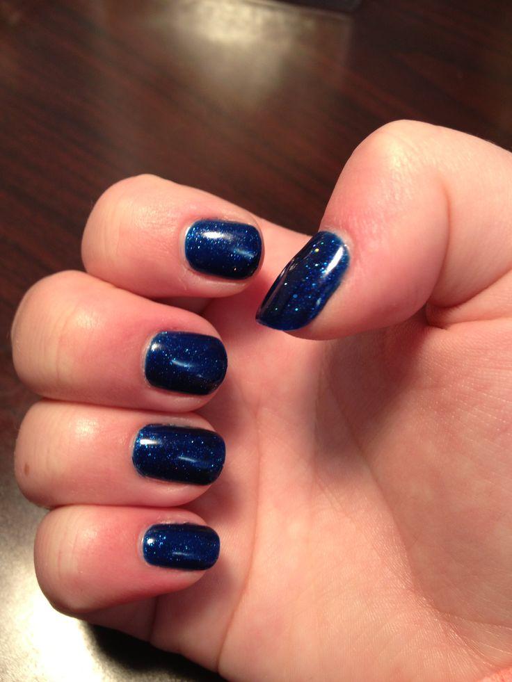 dark blue shellac: Nails Mak, Beautiful Nails, Dark Blue Shellac Nails
