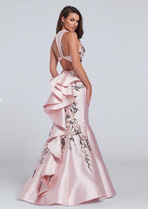 086433d4254 Ellie Wilde for Mon Cheri EW117124 Ruffle Prom Dress  French Novelty ...