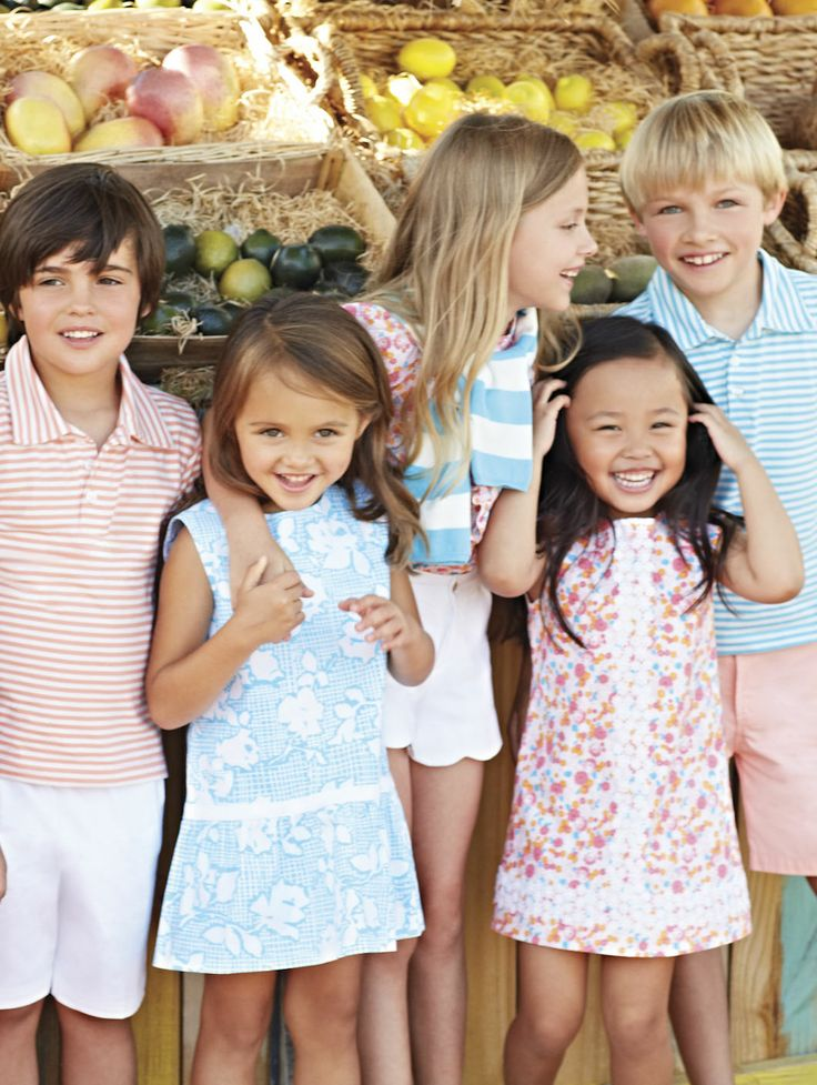 Oscar de la Renta childrenswear.
