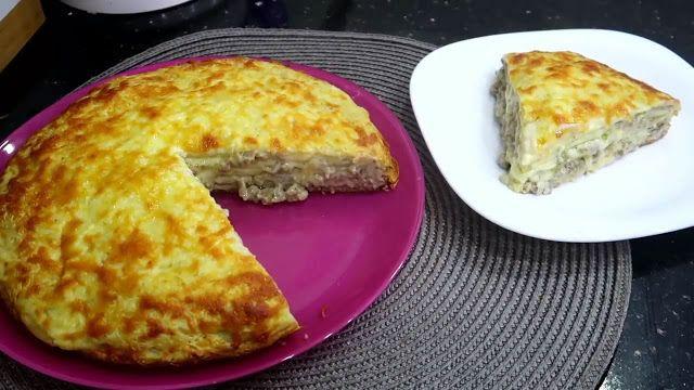 الذ خبزة الكريب المالحة لازم جربوها من اروع الوصفات الصيفية وصفات أم وليد Pancake Cake Cuisine Food
