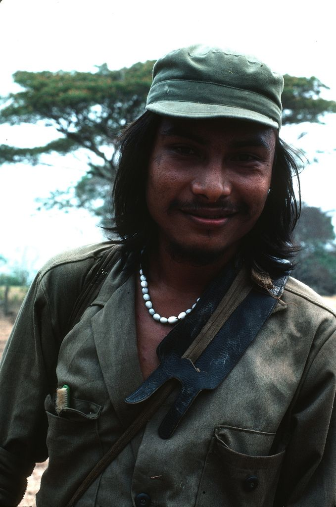 Sandinista Popular Army in the Solentiname Islands, Nicaragua.