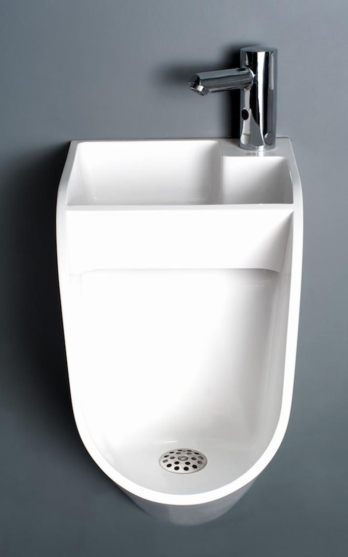 Bathroom Urinal: Can This Sink-Urinal Hybrid Get Men To Wash Their Hands