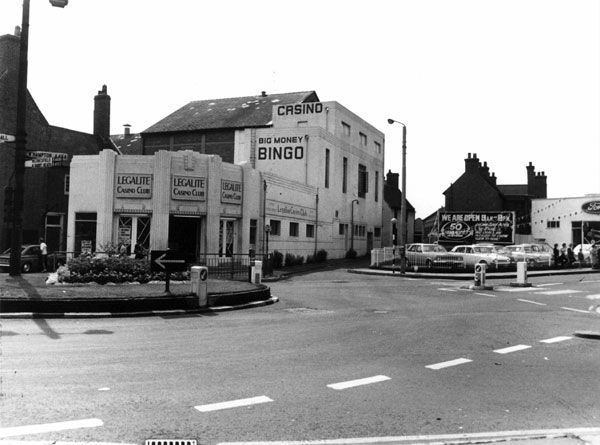 Legalite Casino Club (formerly the Dale Cinema), Willenhall, 1969 (Alan Price)
