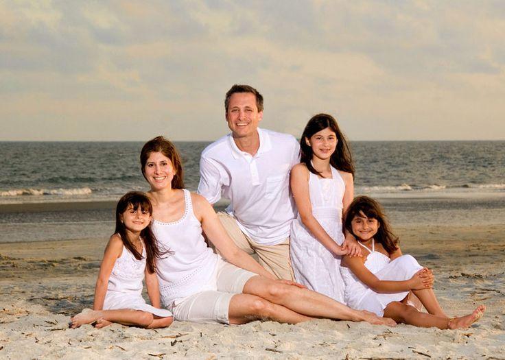hilton head classic family beach portraits