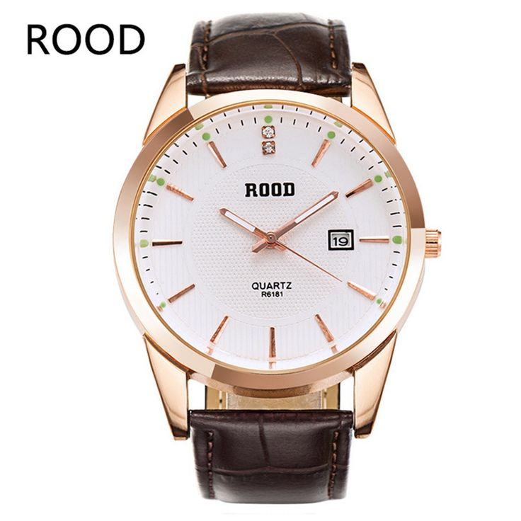 Fashion Leather watches Mens Waterproof watch Men Business wristwatches Sports Military quartz-watch Relogio Masculino