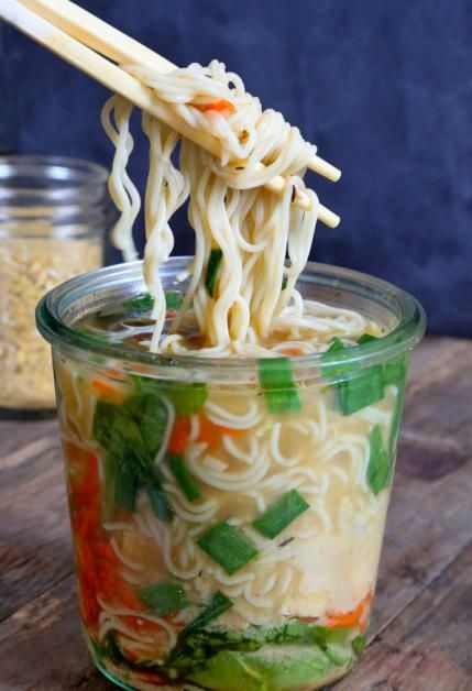 Gluten-Free Lunch Ideas: Instant Noodle Cups