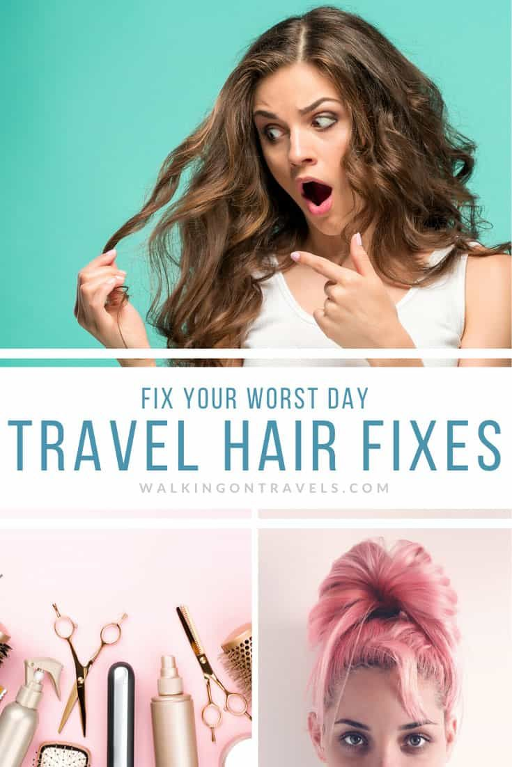 Fix A Bad Hair Day With The Best Travel Hair Products In 2020 Travel Hairstyles Bad Hair Day Bad Hair