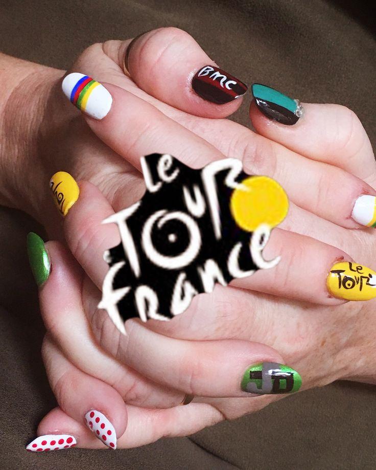9 Best Tour De France Nail Art Images On Pinterest