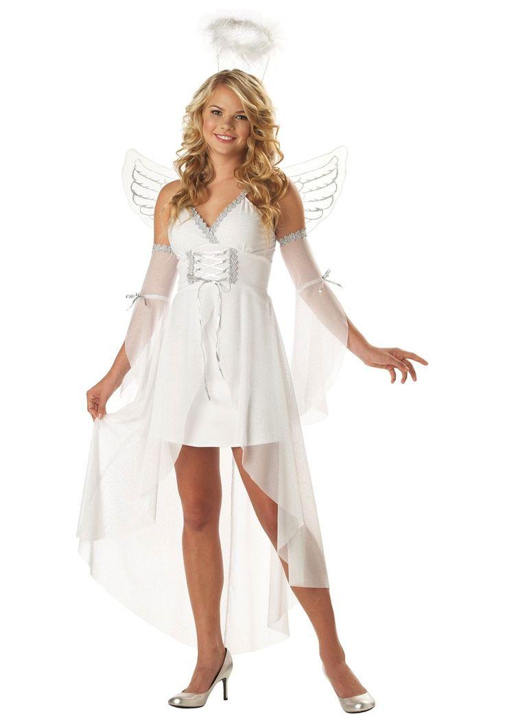 Halloween costumes for teenage girls teen guardian angel costume halloween costumes for teen - Costume halloween fille ...