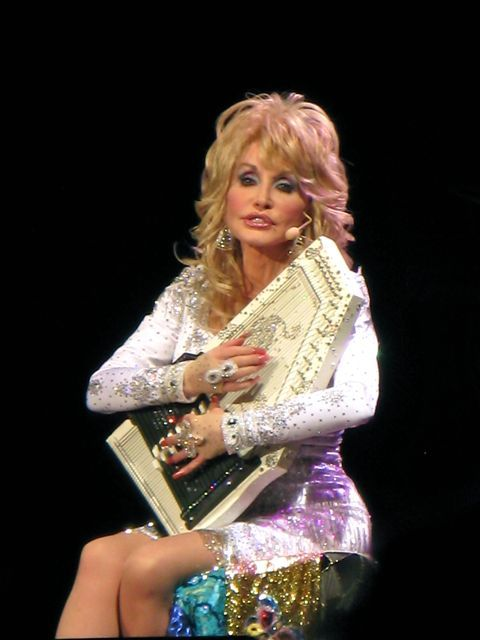 Your Southern Peach: Dolly Parton Concert. Autoharp!
