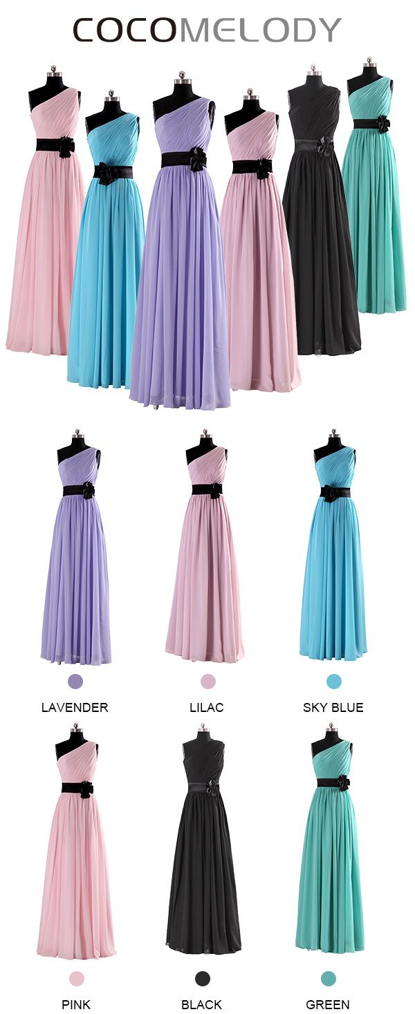 178 best shop by color bridesmaid dresses images on pinterest 90sheath column one shoulder chiffon bridesmaids dress cosf14001l sizes and 6 ombrellifo Choice Image