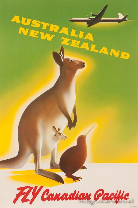 Australia/New Zealand - Canadian Pacific Airlines