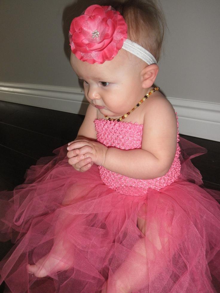 Pretty Bambino tutudress and headband