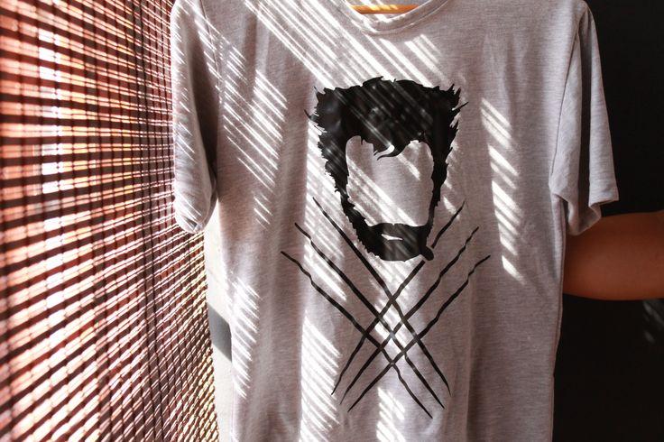 #Labicicleta #tshirt #wolverine