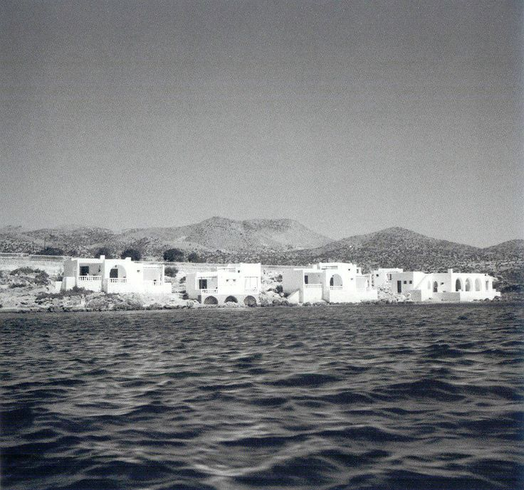The view from the sea #MinosBeach #1960's #Crete