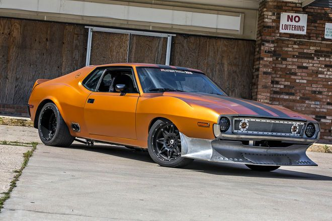 This AMC Javelin AMX is the Road Warrior of HOT ROD Power Tour ...