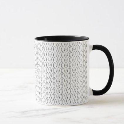 Stockinette Stitch Mug - craft diy cyo cool idea