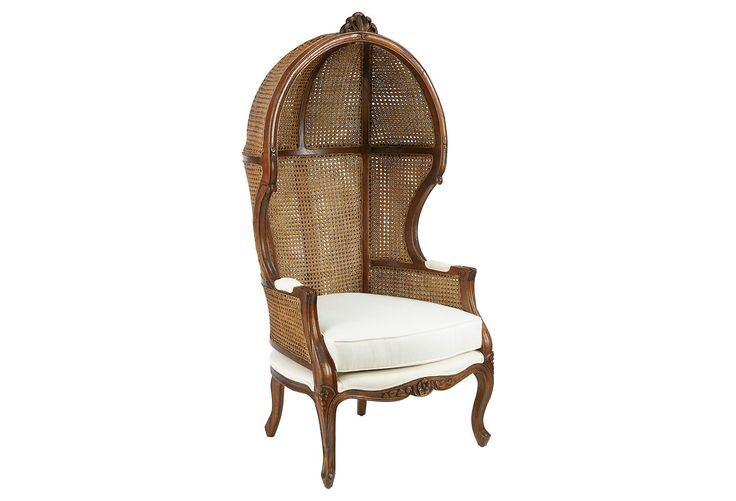 Porter Chair, Walnut Finish | One Kings Lane