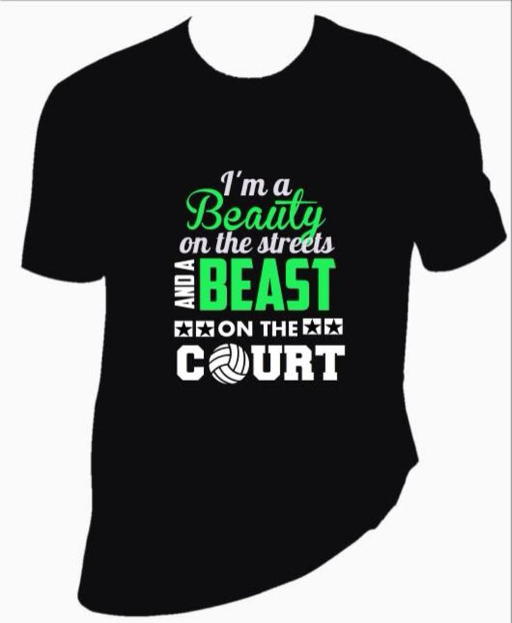 Charming Custom Volleyball Shirt. Look Like A Beauty, Play Like A Beast. Custom  Designs U0026 Personalized Fast Delivery