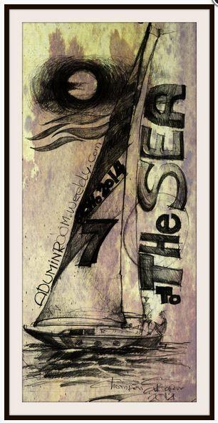 To the sea. (2B pencil on note paper) #artistic #art #artist #drawing #artcollector #artlovers #dibujo #arts_promote #worldofpencils #photooftheday #arts_help #worldofartists #artofinstagram #pencilart #pencil #draw #dailyart #art_viral #sketching #artwork #art