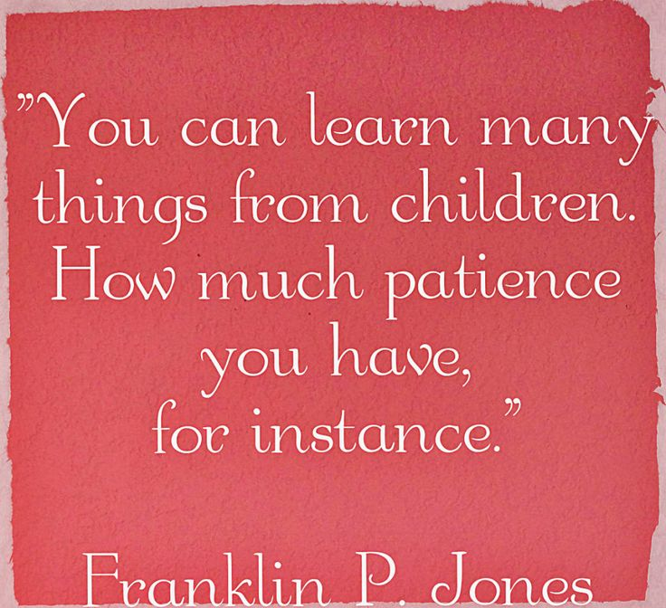 Funny, But True. Kids Will Test Your Patience At Just
