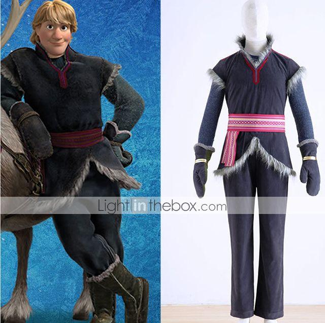 bevroren Kristoff mannen cosplay film kostuum 2015 – €113.99