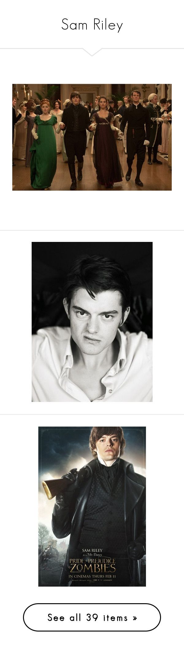"""""""Sam Riley"""" by imawkwardhey ❤ liked on Polyvore featuring men, man, disney, maleficent, sleeping beauty and sam riley"""
