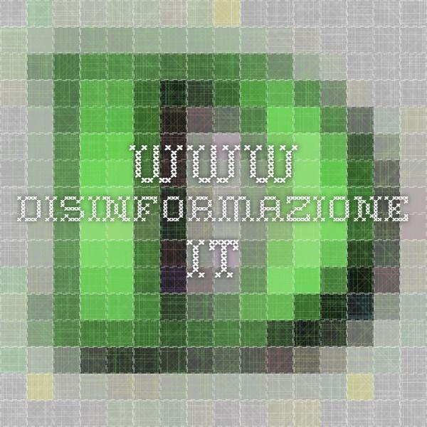 www.disinformazione.it