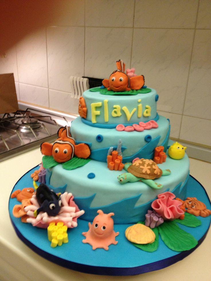 Nemo & Co. torta compleanno