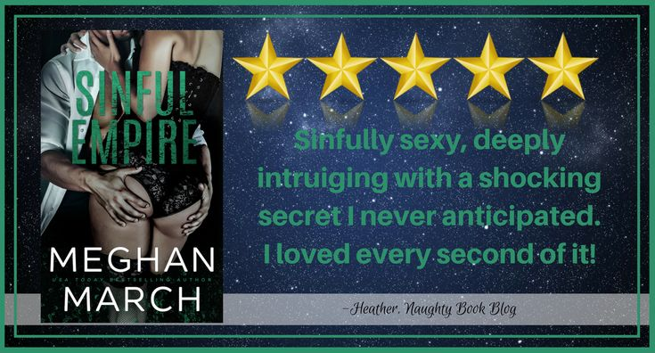 New Release With Review: Sinful Empire by Meghan March – Naughty Book Blog