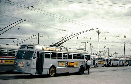 1937 - July 1963 Adelaide Bus Trolley Depot, at Port Adelaide