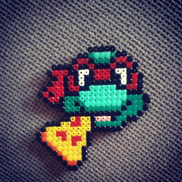 TMNT sprite hama beads by robs_art_cave