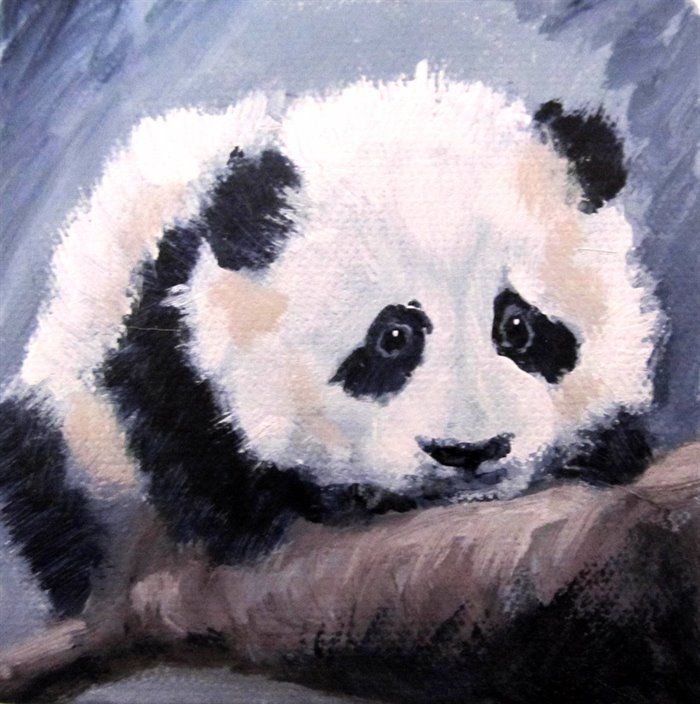 Panda Cub #3 by Hilary Weeks