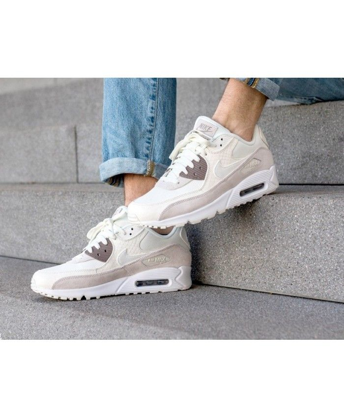 Nike Air Max 90 Premium Sail Sepia Stone White | Nike air
