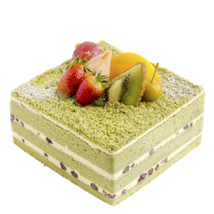 lovely green tea cake!