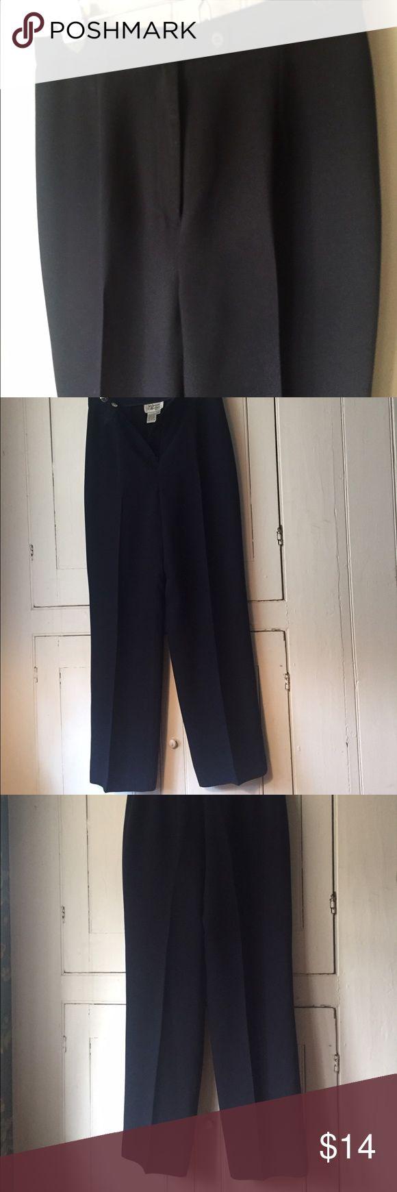 Navy Blue Dress Pants Navy Dress Pants; Petite Size 4 Style & Co Pants Straight Leg