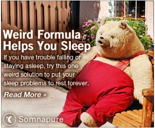 Helps you sleep... forever? Does it turn you into an anthropomorphic bear in overalls? I'll pass: Oddities, Forever, Bears, Silly Signs, Overalls, Anthropomorphic Bear, Hurts