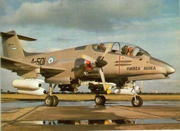 FMA IA 58 Pucará - Fuerza Aérea Argentina (Argentine Air Force), Argentina